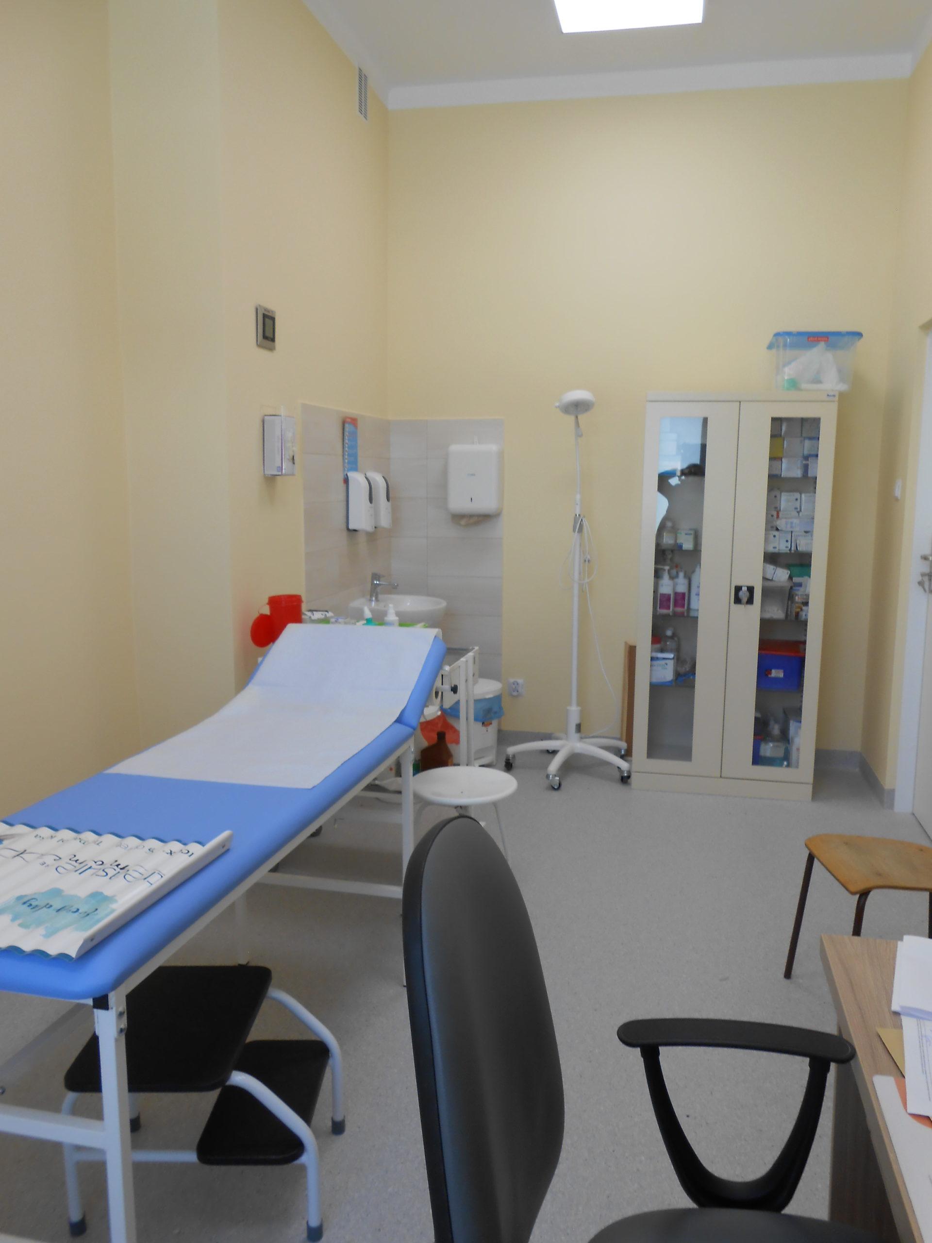 Nowopowstałe gabinety lekarskie w Poradnii Urazowo - Ortopedycznej